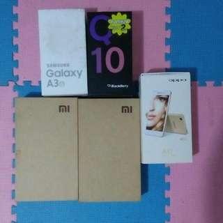 Oppo A37,,, Xiomi,,, Blacberry,,,  Samsung,,,