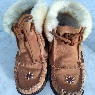 Winter Lowerise Fur Booties