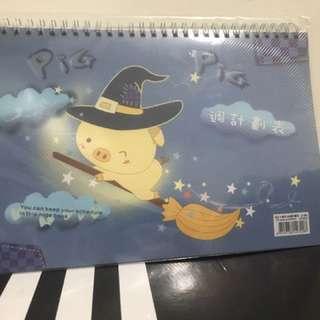 小豬 大本週計劃筆記本