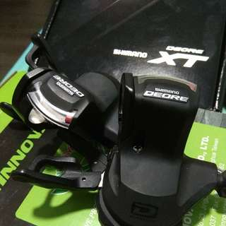 Shimano Deore M610 10 speed shifters
