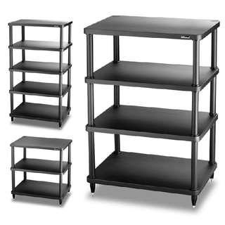 SOLIDSTEEL - S3-SERIES MODULAR AUDIO RACK S3-3 (3 SHELF) BLACK