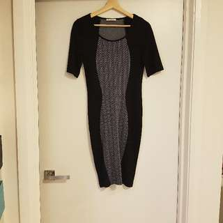 Metallicus black dress sz S/M