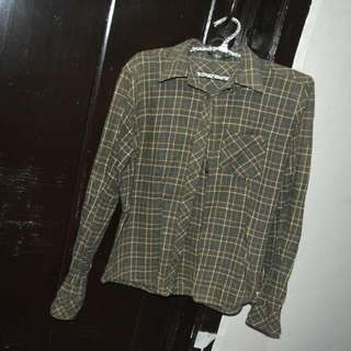 Longsleeves Checkered Polo