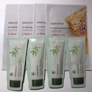 INNISFREE SKINCARE PACKAGE