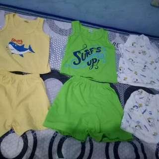 Set Of 2 Sando&shorts
