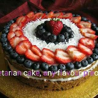 Vegetarian cake (Any flavour,preorder,premake)