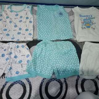 Sets Of 3 Branded Sando&shorts