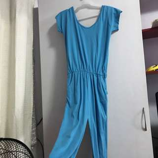 Blue Jumpsuit with pockets