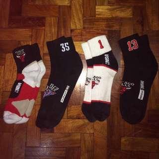 OG NBA Jersey & Logo Socks (Drose,KD,J Butler,Bulls)