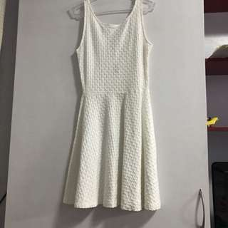 H&M scooped back skater dress (used once)