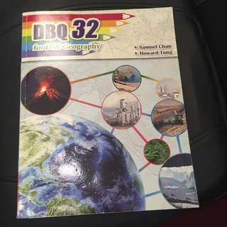 DBQ32 for DSR Geography 連地圖及答案