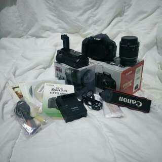 Canon 600D Exclude Kit lens