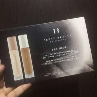 Fenty Beauty Pro Filt'r Samples