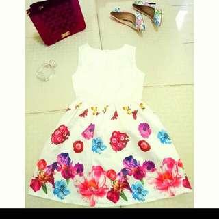 Dress Bunga Silk