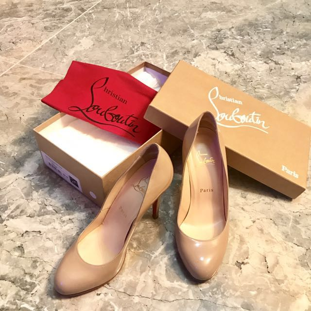36k Christian Louboutin Authentic Pre Loved Good As New With Extra Sole Made From Shoecare For Extra Protection