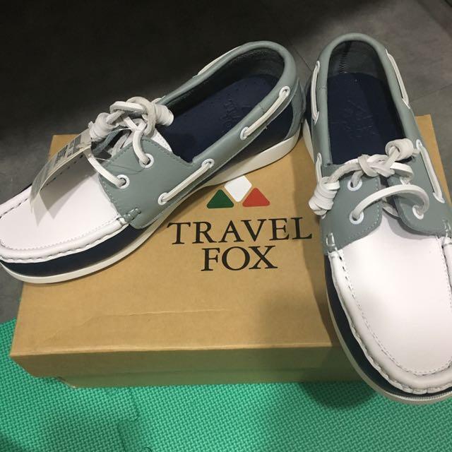 旅狐帆船鞋