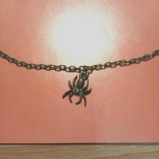 復古蜘蛛ㄉ項鏈呦