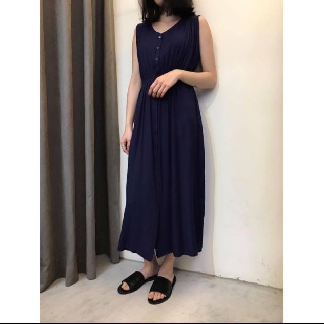 正韓 Cover 女神洋裝 深藍