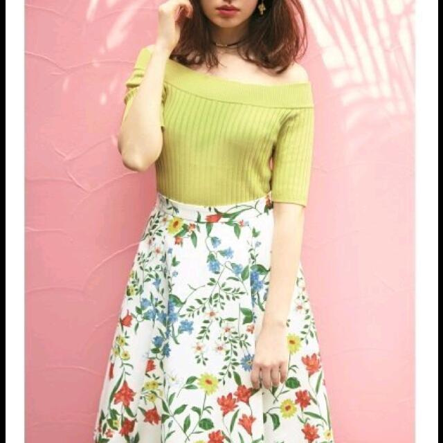 全新正品 Rirandture 小鴆陽菜著用 日本製花卉裙
