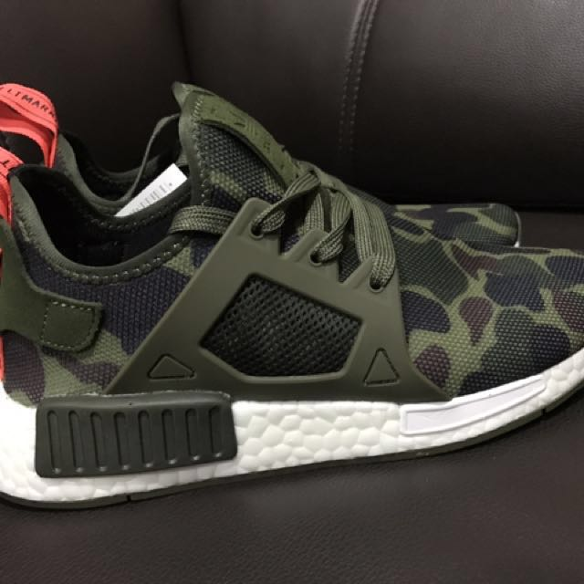 newest 517be e575c Adidas Camo NMD XR1 UK7, Men s Fashion, Footwear on Carousell