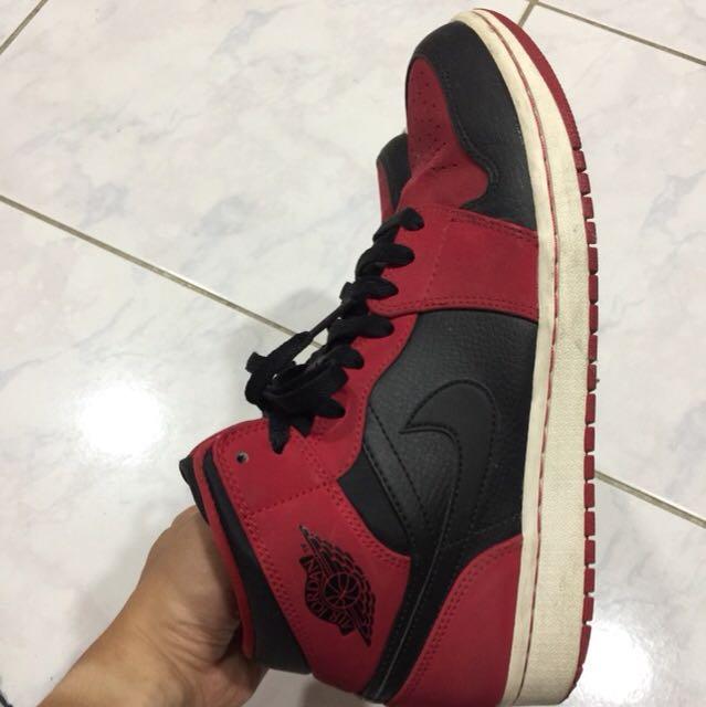 Air jordan1 黑紅 平面款