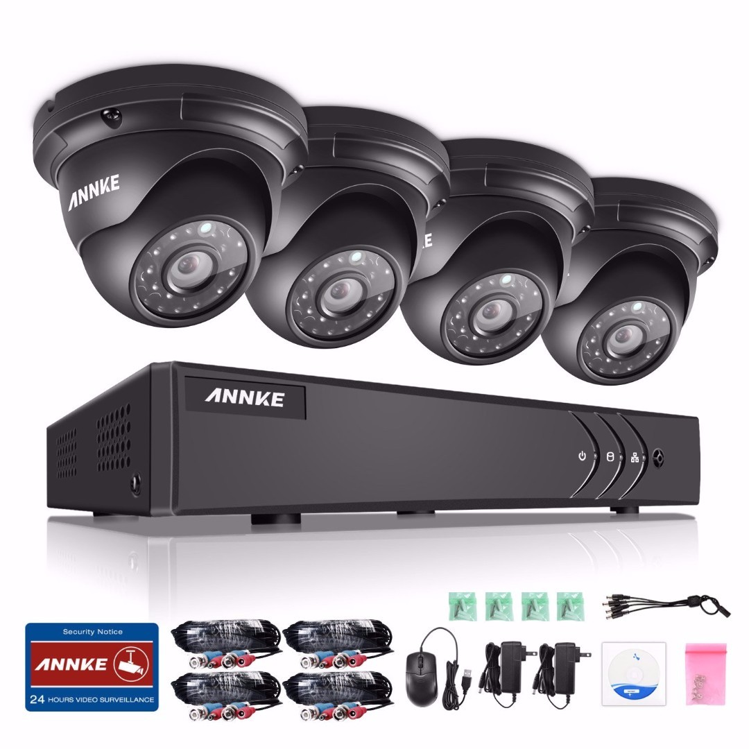 ANNKE 4CH. 1080P Video Surveillance Security Camera CCTV