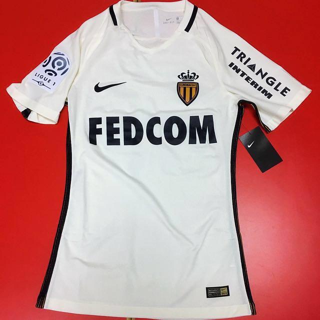 pretty nice 15379 e0e82 AS Monaco Away Kit 2016/17 Kylian Mbappe Lottin 29, Men's ...
