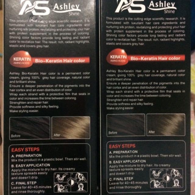 Ashley Haircolor Preloved Health Beauty Hair Care On Carousell