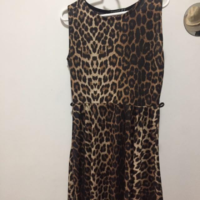 Atmosphere (UK) Leopard Print Dress