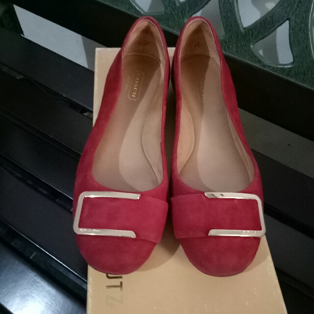 Authentic Coach Ladies Flat Shoes