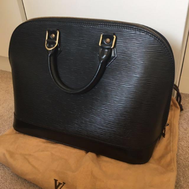 Authentic LV ALMA Epi Leather