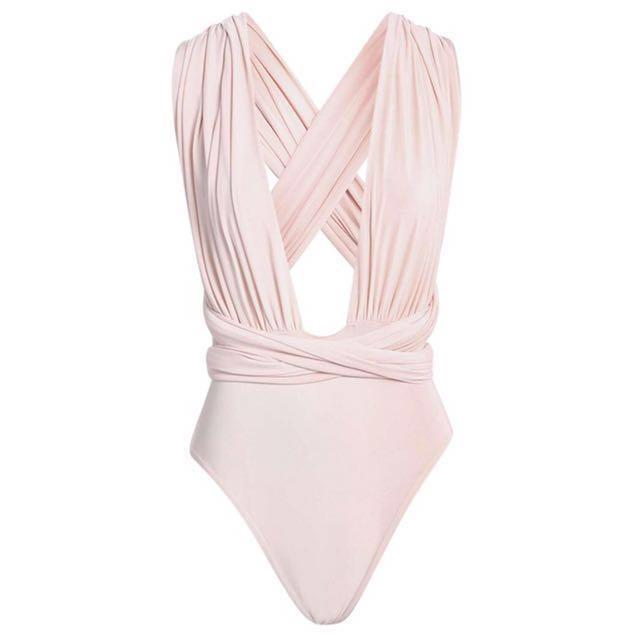 Baby Pink Multiway Bodysuit