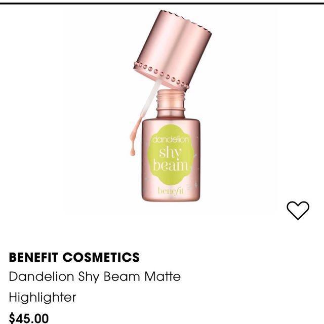 BENEFIT Shy beam highlighter
