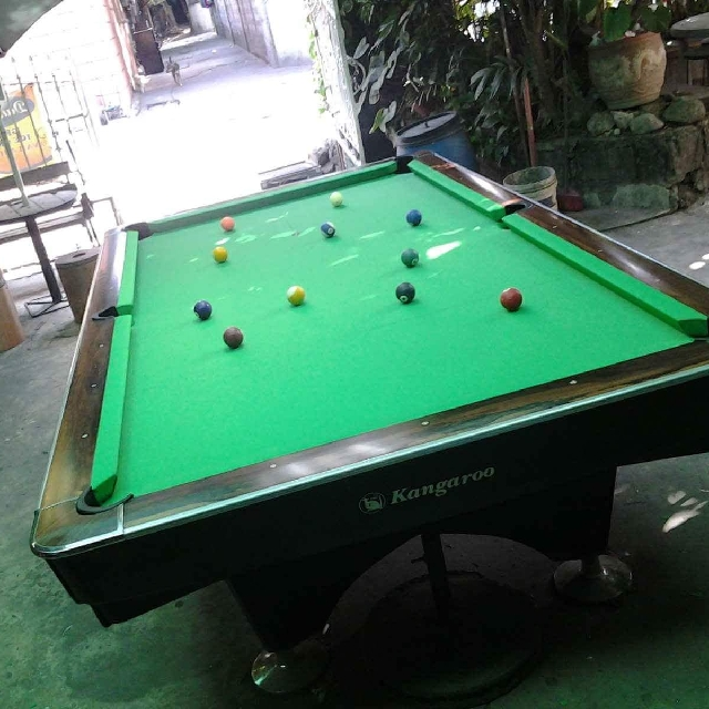 Billiard Table Set (Kangaroo) Toys u0026 Games Board Games u0026 Cards on Carousell : snooker table set - pezcame.com