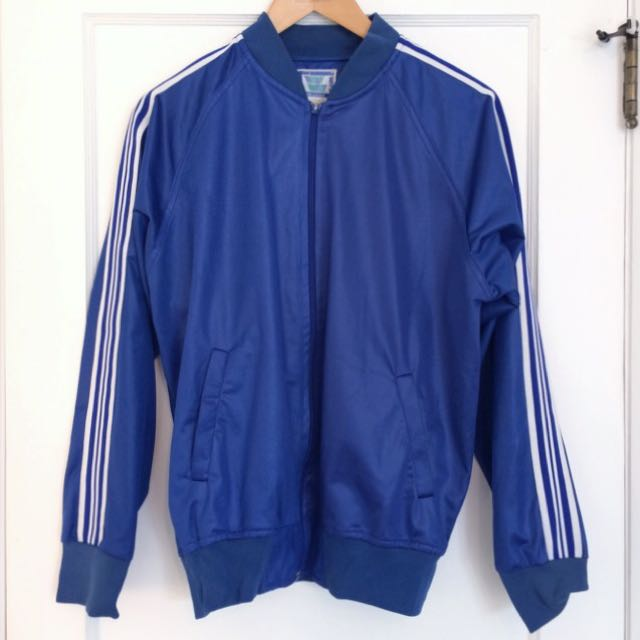 Blue Track Style Jacket