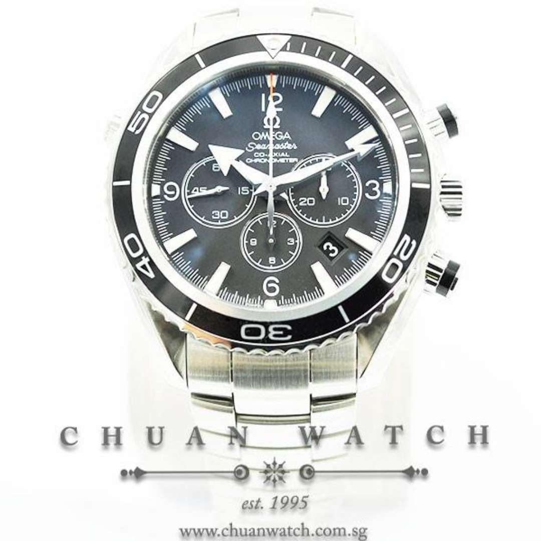 2536c721f95c Brand New Omega Seamaster Planet Ocean 600M Co-Axial Chronograph ...