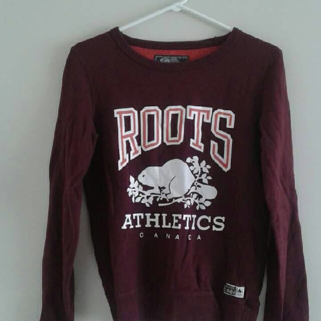 Burgundy Roots Sweater