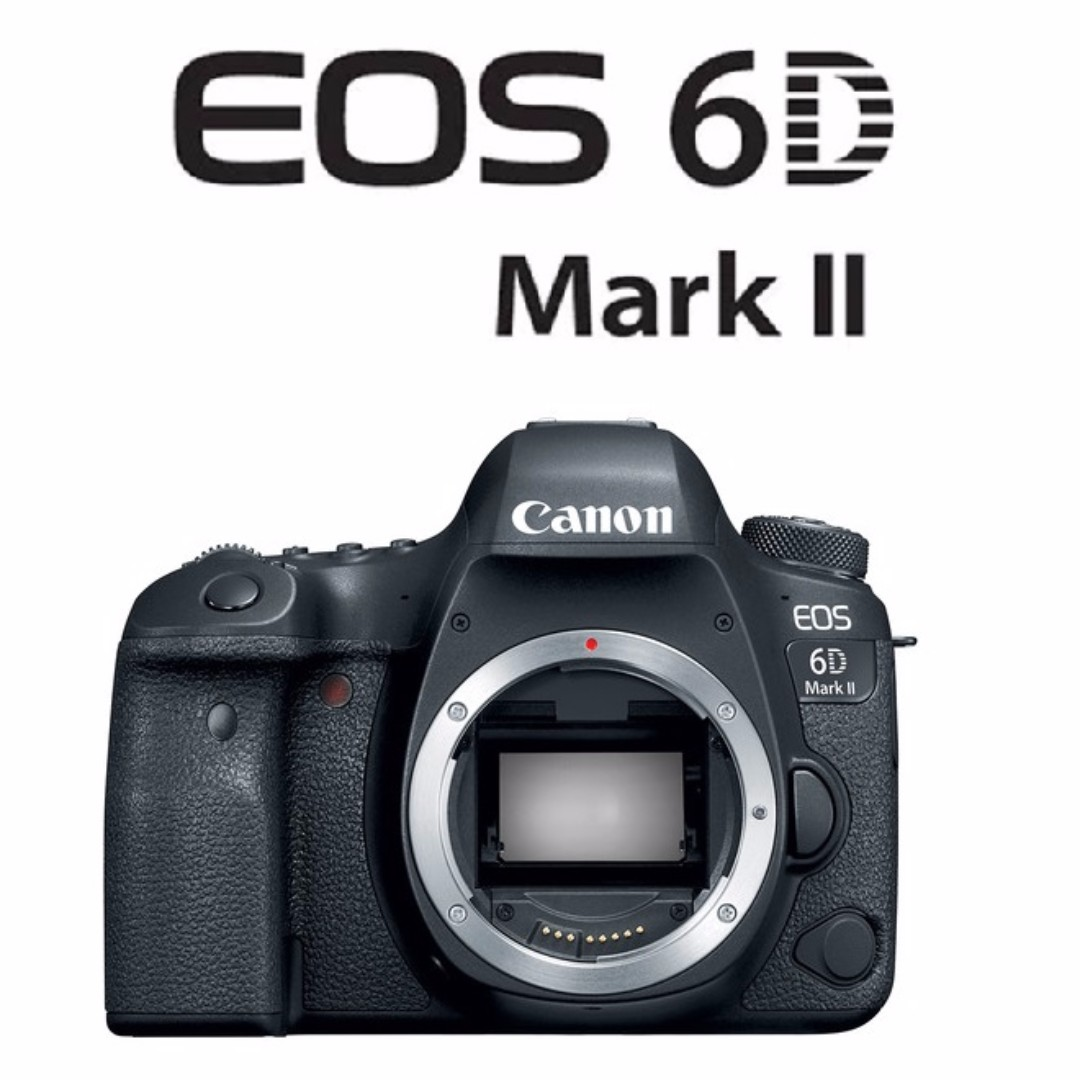 🛒Canon EOS 6D Mark II Body DSLR Camera Full Frame, Photography on ...