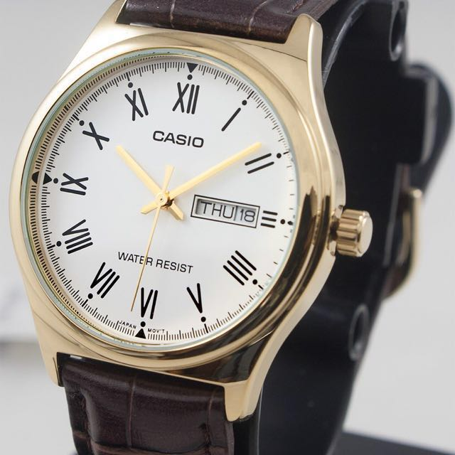 Casio Authentic Leather Watch