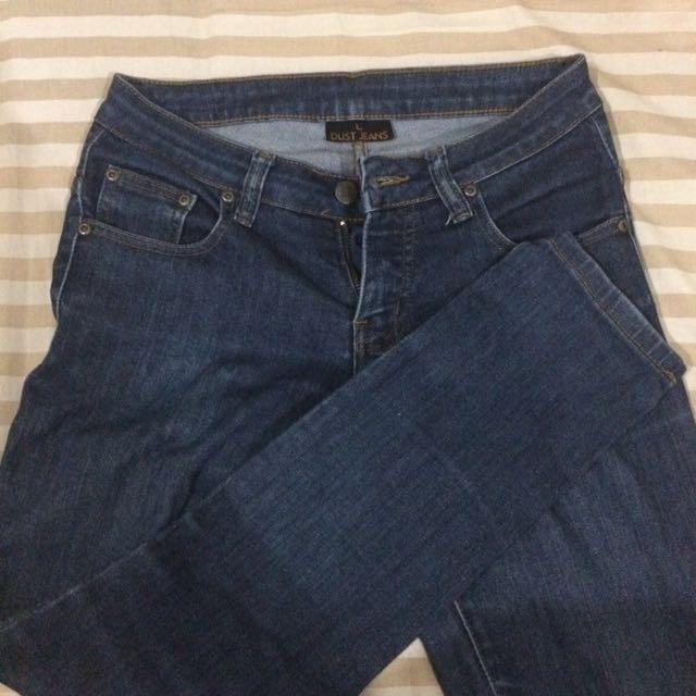 Celana panjang Dust Jeans Biru