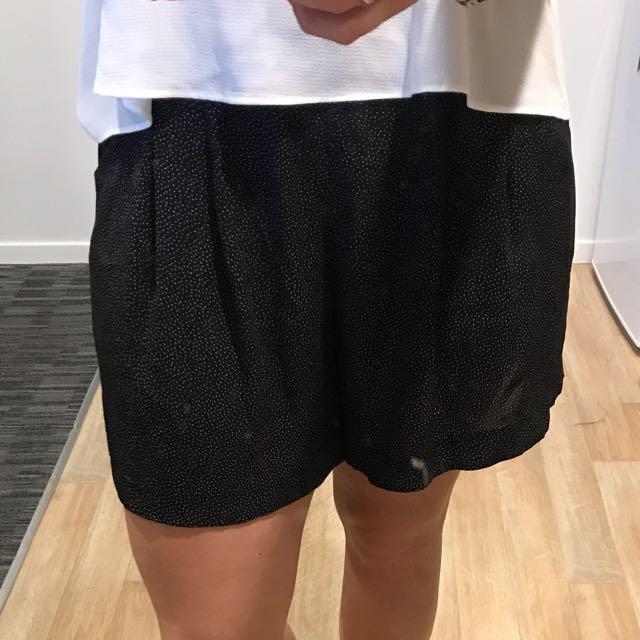 Chiffon shorts