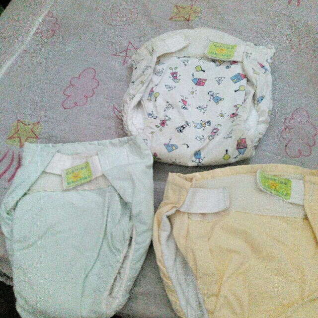 cloths diaper 3 months to to 1 yr old with free 1 diaper clouth