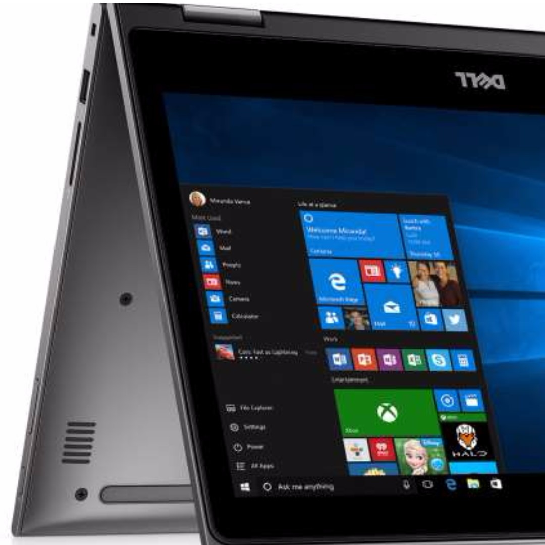 Dell Inspiron 13 2-in-1 8GB 256GB SSD Touch Win10 Ultrabook
