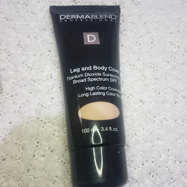 Dermablend leg and body foundation