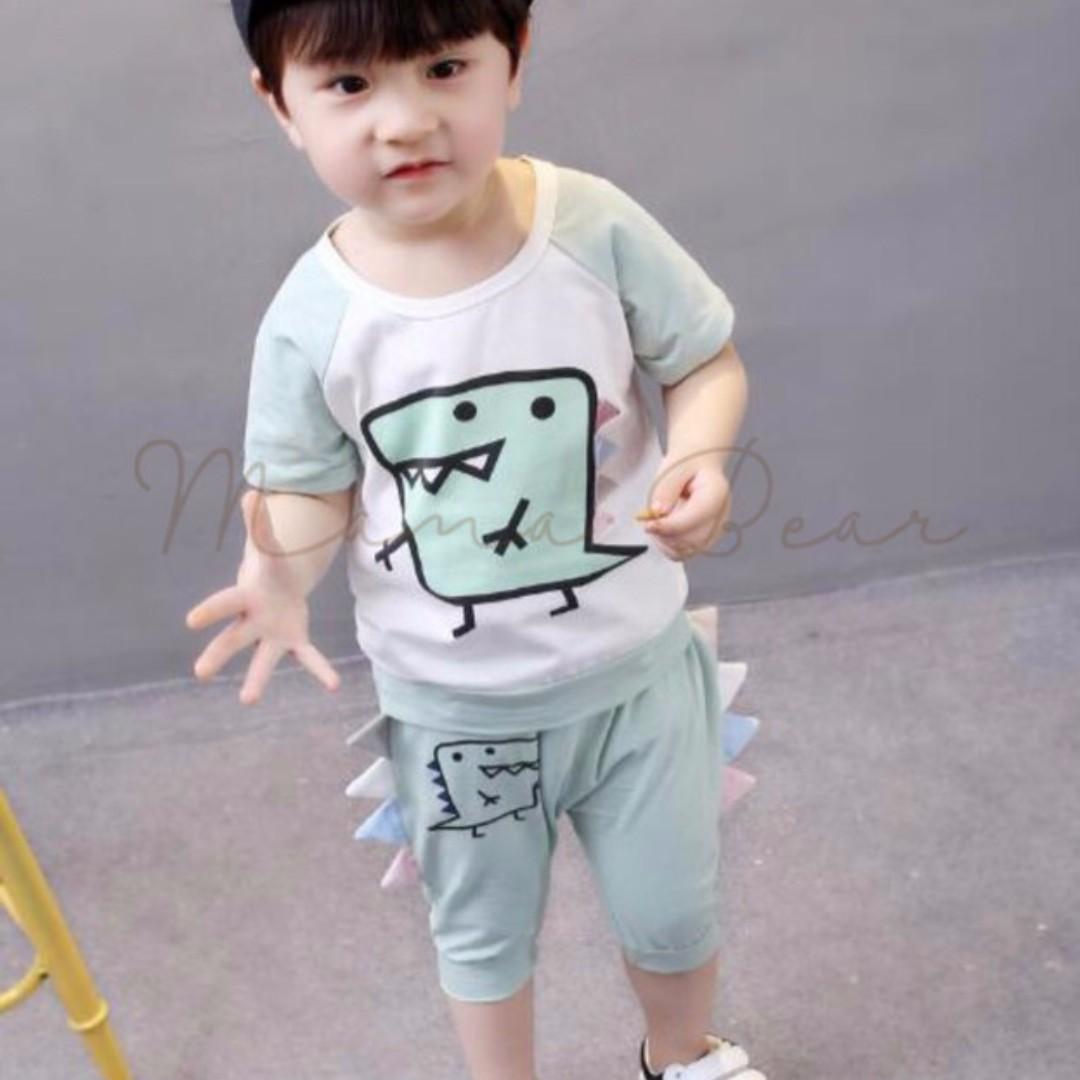 Dinosaur Print Kids Clothing Set