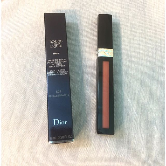 DIOR ROUGE LIQUID 迪奧藍星絕色唇萃(霧面) #527 reckless matte 現貨 夢露