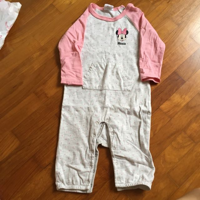 7a06d14ad Disney Baby Fox one piece suit Long sleeve Long pant night pajamas ...