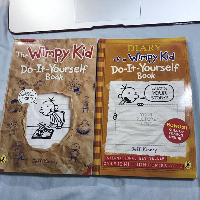 Do it yourself wimpy kid books stationery childrens books on photo photo photo photo solutioingenieria Choice Image