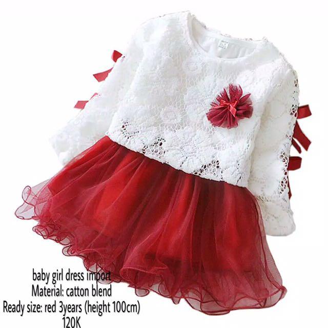 dress import (baby girl)