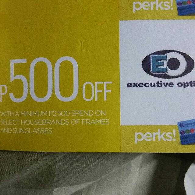 EO Discount Coupon